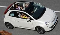 (H2) Fiat 500 cabrio Auto